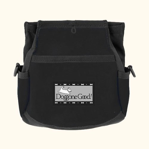 A favorite among dog trainers, the Doggone Good treat bag is all business.  It s a compact, water-resistant pouch with a magnetic closure that makes  treat ... 7322b782db