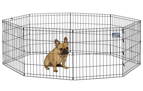 Best Basic Dog Exercise Pen: MidWest Homes For Pets Foldable Metal Exercise  Pen