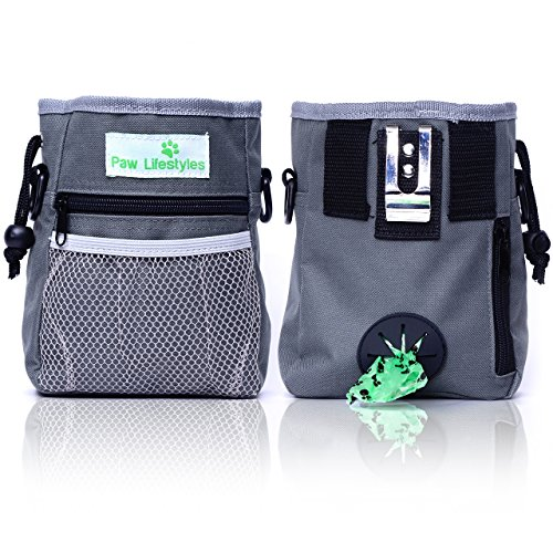 This is a bestseller for a reason  it doubles as both a treat pouch and poop  bag carrier! This multi-purpose, lightweight training bag lets you take  your ... 8782fb27c7