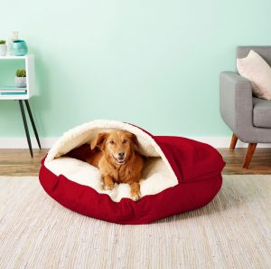 Snoozer Pet Products Cozy Cave Covered Bed