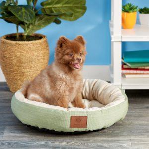 AKC Casablanca cozy bolster dog bed