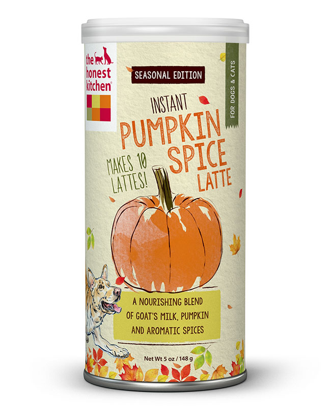 pumpkin spice latte mix for dogs
