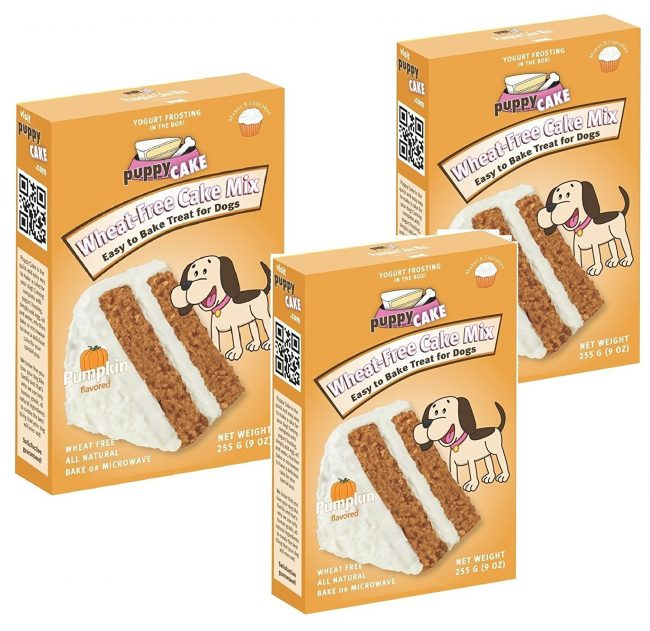 puppy cakes pumpkin spice wheat free cake mix