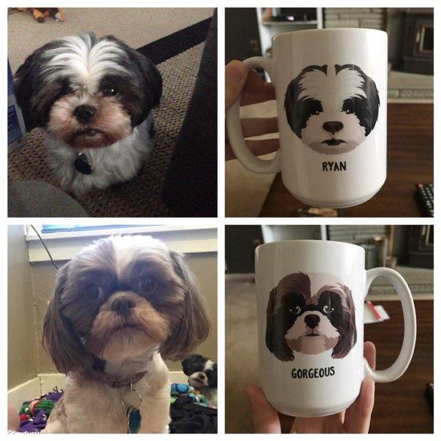 5662e9f692b6c Custom Dog Portraits | 7 Custom Pet Portraits from Etsy and Beyond