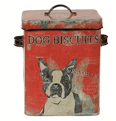 Boston Terrier vintage treat container from Wayfair