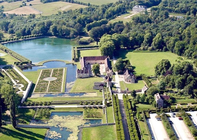 les jardins du val d'oise pour une sortie nature en ile de France