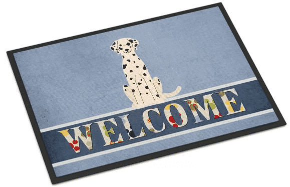 Wayfair Dalmatian welcome mat