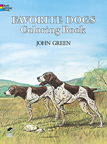 Favorite Dogs Coloring Book 449