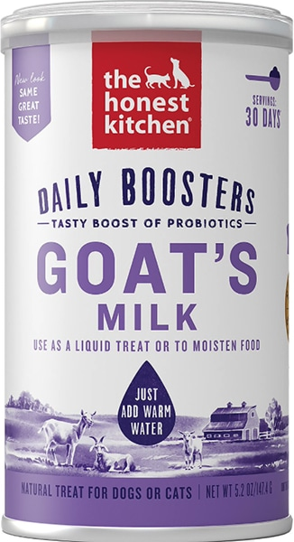 The Honest Kitchen powdered goat milk