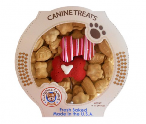 Canine Treats gift tub for dogs
