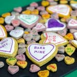 conversation heart cookies for dogs