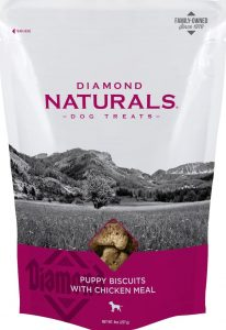 bag of Diamond Natural puppy biscuits