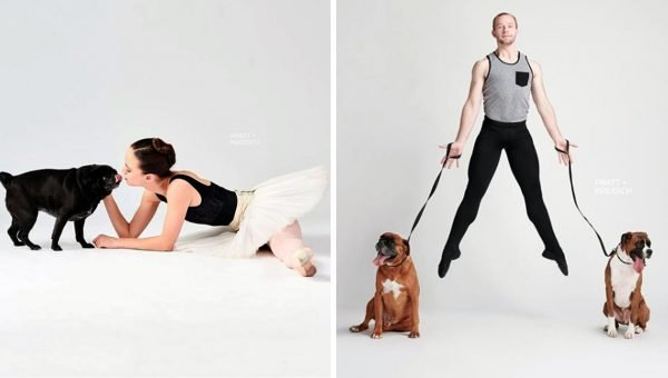 Dancers and Dogs Photo Project Is the Perfect Eye Candy for Your Day