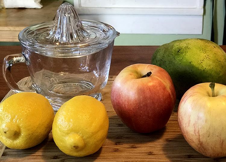 mis en place dehydrated fruit treats
