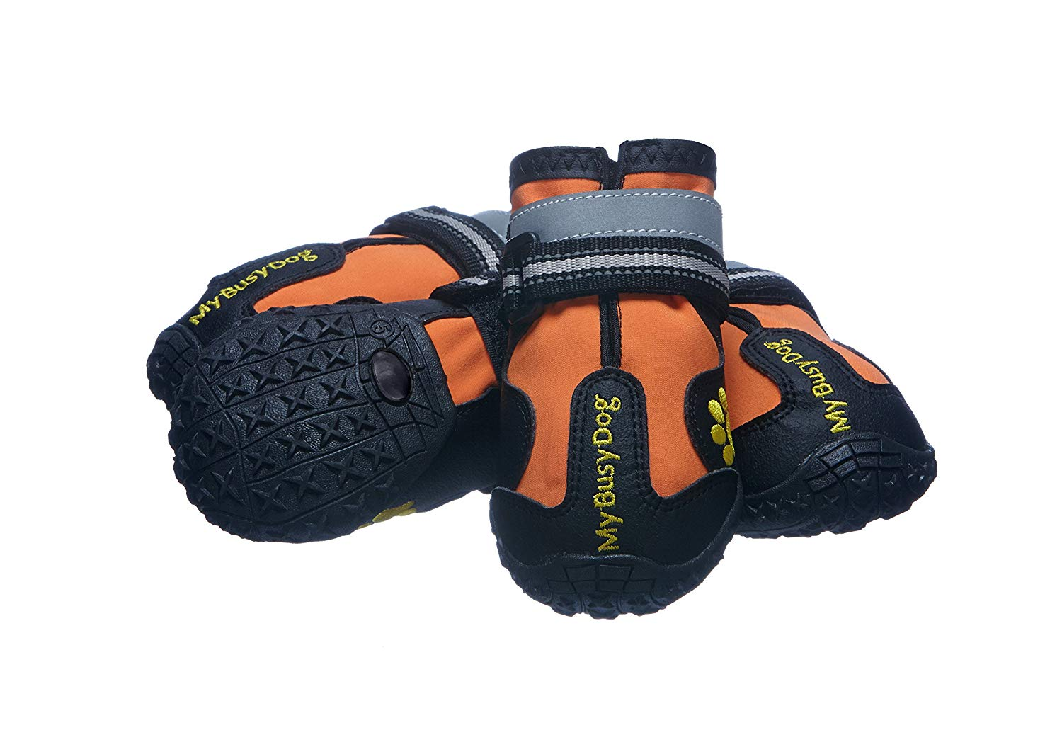 rugged reflective dog shoes for hiking with dogs