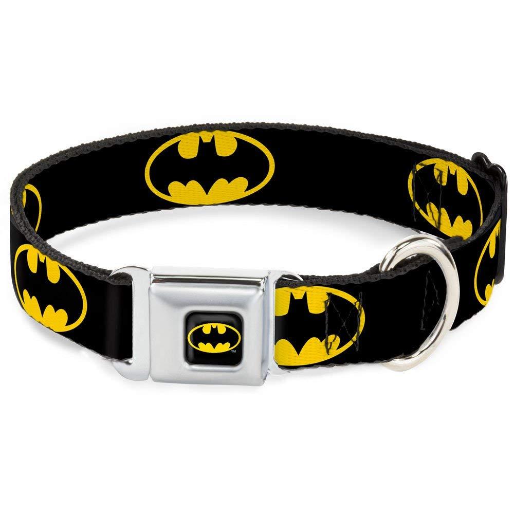 Buckle-Down Batman-themed collar