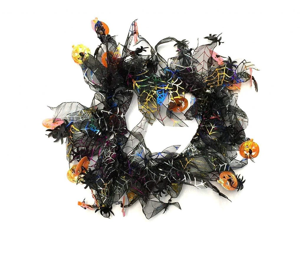 Midlee decorative Halloween dog collar
