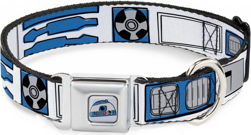 Buckle-Down R2D2 print collar