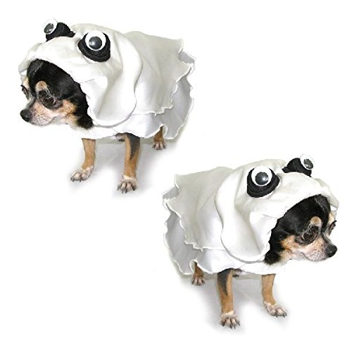 Ghost scary dog costume