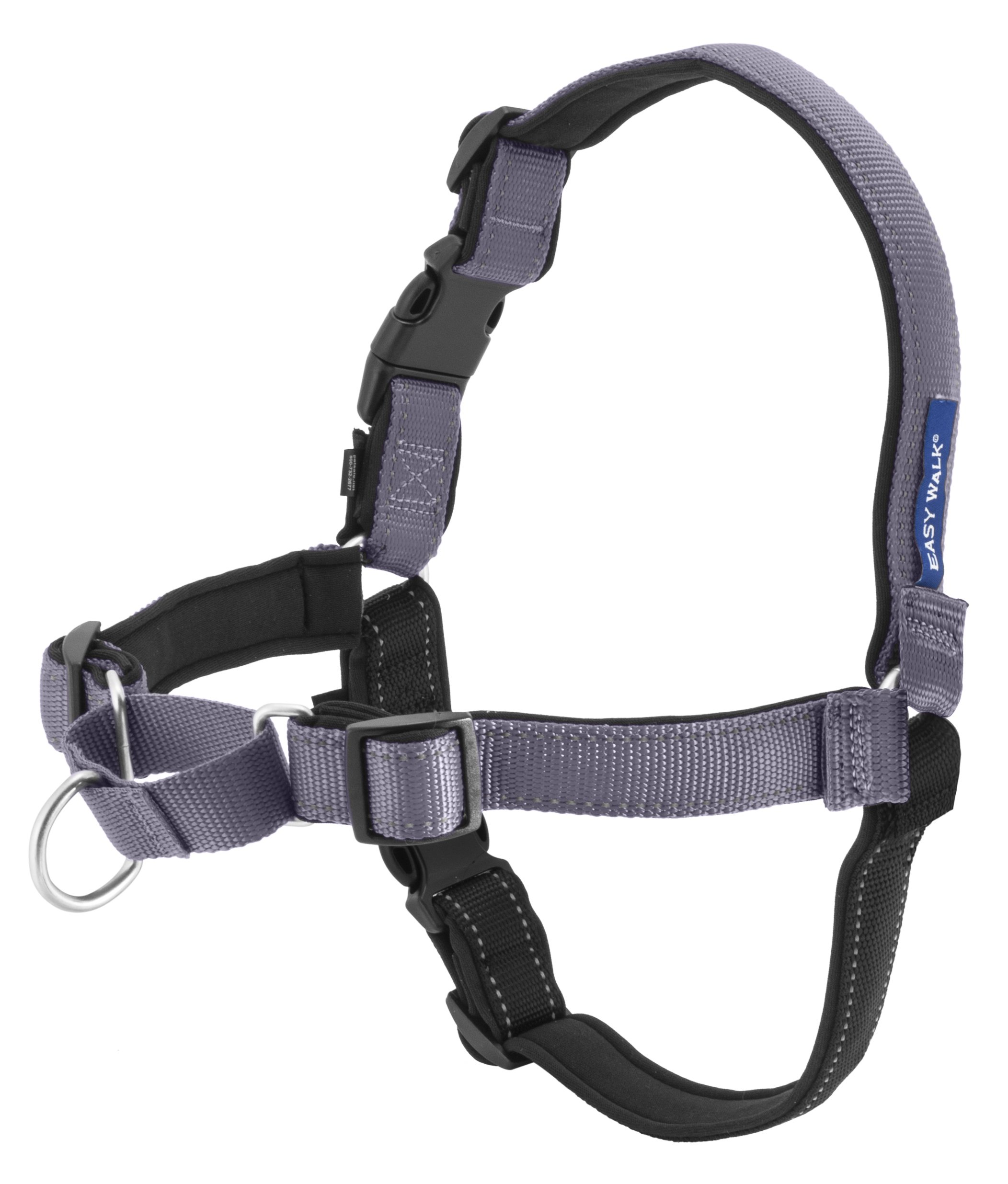 Petsafe Easy Walk harness in gray and black