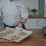 blueberry oat scones for dogs