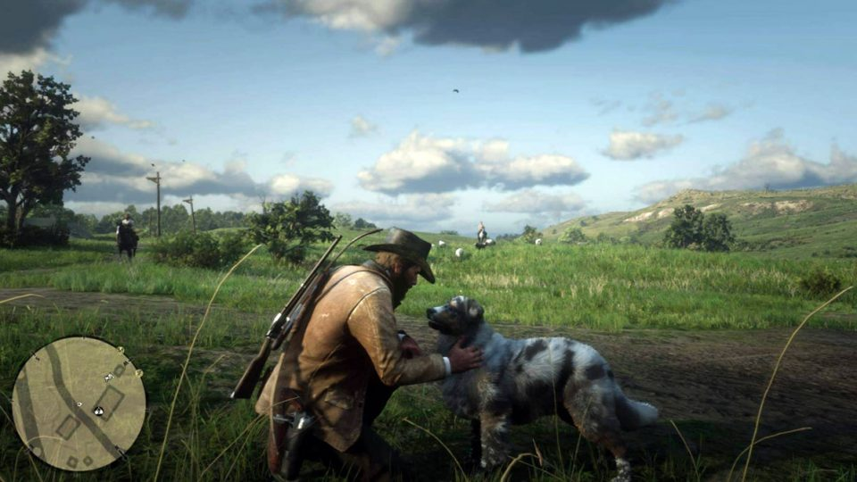 Hot New Game Red Dead Redemption 2 Is Basically A Dog