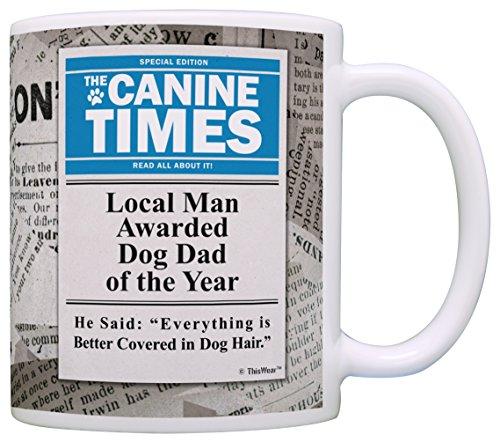 79acda527d7 Dog Dad of the Year Mug. Funny ...