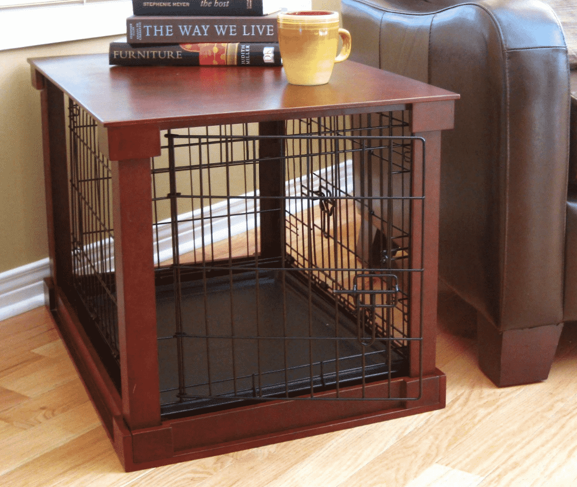Large Dog Crates Furniture Side Table