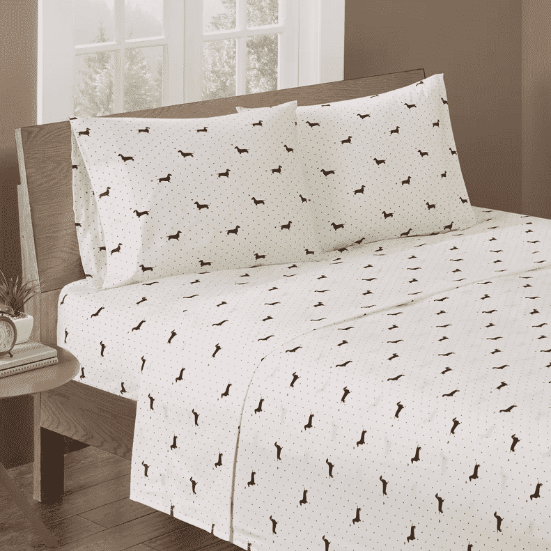 Dog Sheets 13 Cozy Dog Print Sheets For Every Dog Enthusiast