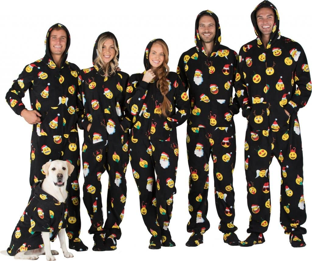 Christmas Pajama Onesies.8 Human And Dog Matching Christmas Pajamas You Ll Need After