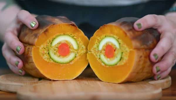 Meet the Turdoggen—a Gloriously Epic Stuffed Butternut Squash for Dogs [Recipe]