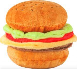 P.L.A.Y. Classic Burger Dog Toy