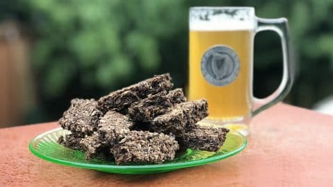 brewer's spent grain beer cookies for dogs (and ponies too)