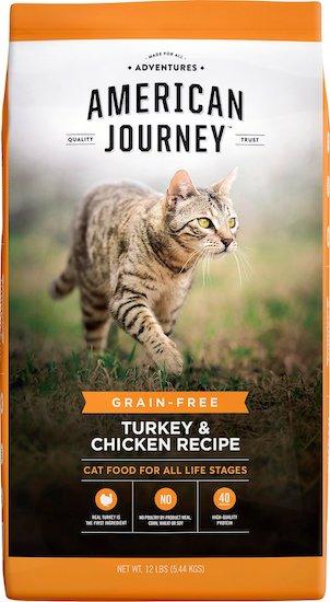 American Journey grain-free cat food