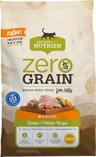 Rachel Ray Zero-Grain cat food