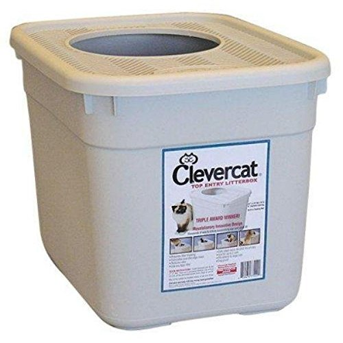 Clevercat top-entry litter box for picky cats