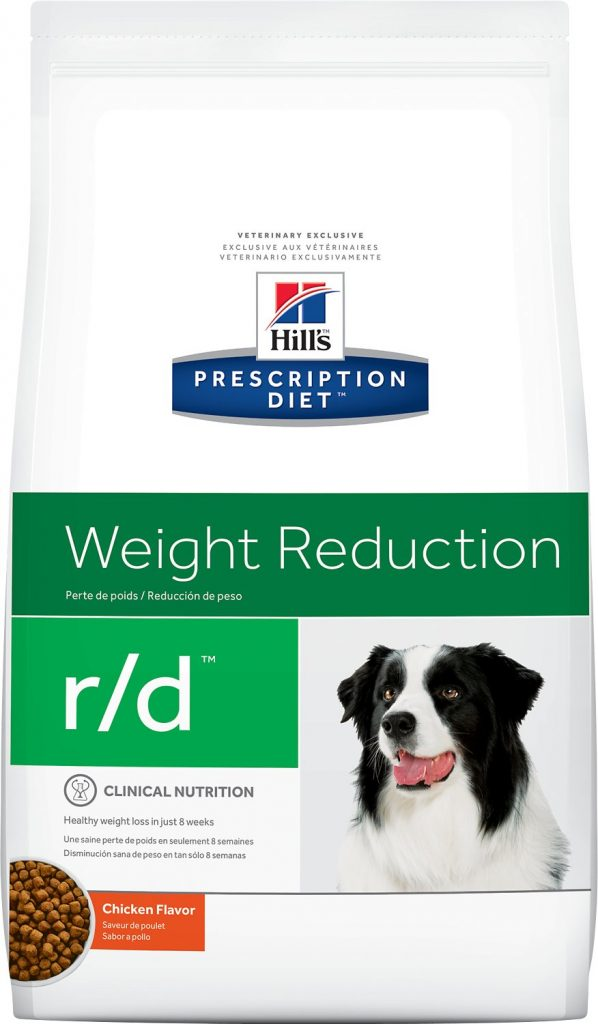 Hills Weight Reduction food