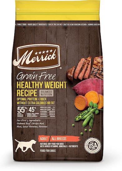 Merrick healthy weight food