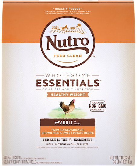 Nutro Wholesome Weight food