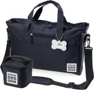 black Dog Gear dog toy storage tote bag