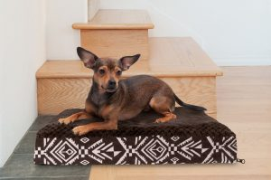 FurHaven kilim-style bed