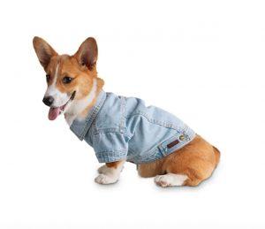 Reddy Blue washed denim dog jacket