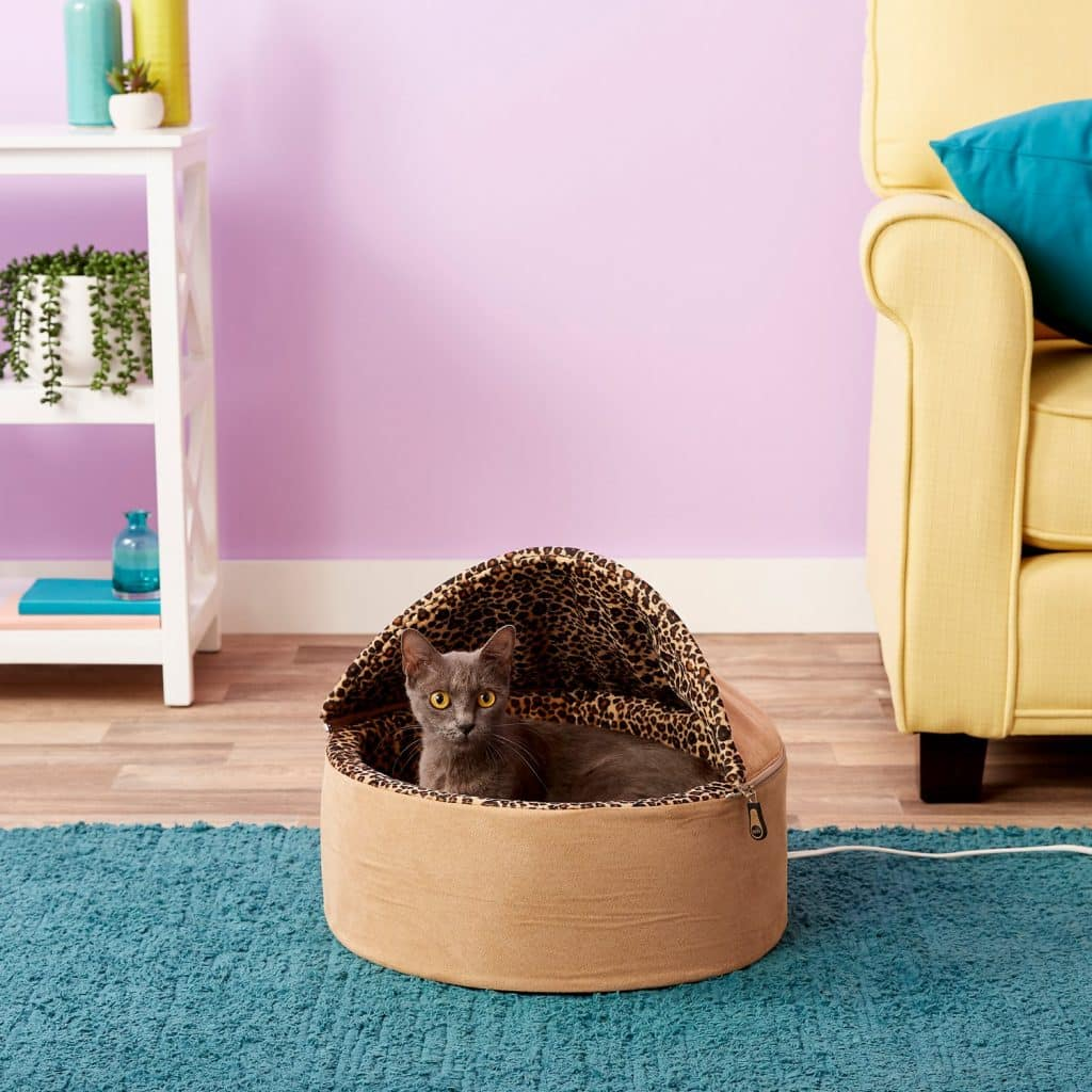 Super The Best Cave Cat Beds For 2019 The Dog People By Rover Com Customarchery Wood Chair Design Ideas Customarcherynet