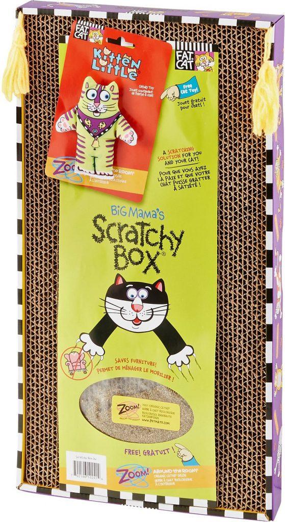 Fat Cat brand Scratchy Box scratcher