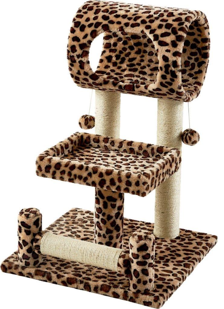 Frisco leopard print cat tree