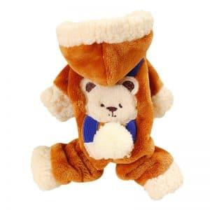 fleece pet jumpsuit