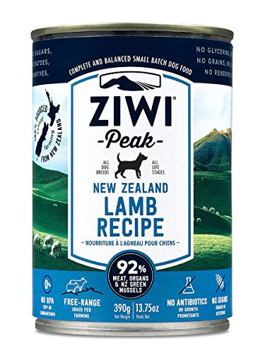 can of Ziwi peak canned dog food without chicken