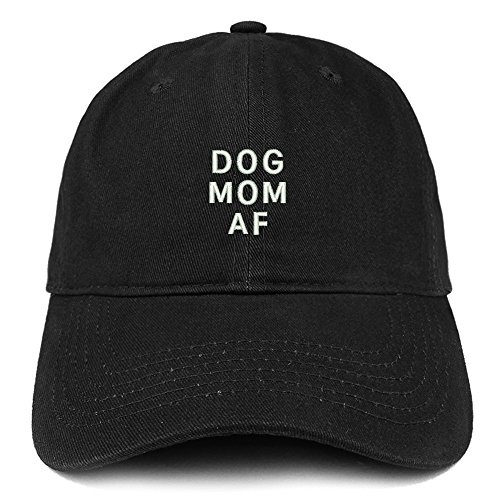 Dog Mom AF embroidered hat
