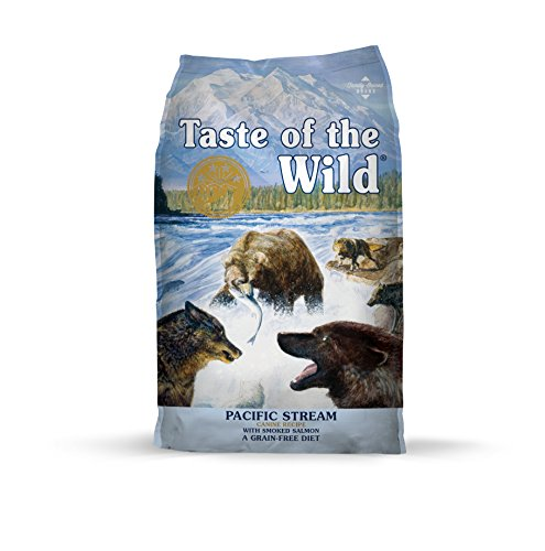 Chewy Taste of the Wild grain free pacific stream dog food without chicken