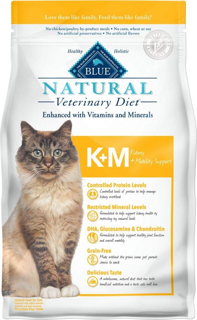 Blue Buffalo cat food low in phosphorus